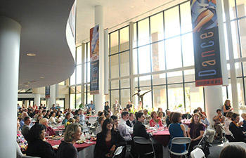 The Center for the Arts is a stunning backdrop for your event.
